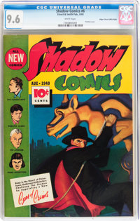 Shadow Comics #6 Mile High pedigree (Street & Smith, 1940) CGC NM+ 9.6 White pages