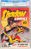 Golden Age (1938-1955):Crime, Shadow Comics #7 Mile High pedigree (Street & Smith, 1940) CGC NM- 9.2 Off-white to white pages....