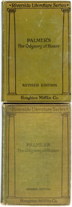 Books:Literature Pre-1900, George Herbert Palmer, translator. Homer. The Odyssey.Boston; Houghton Mifflin, [1921]. Revised edition. Paired wit...(Total: 2 Items)