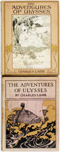 Books:Children's Books, Charles Lamb. The Adventures of Ulysses. Illustrated by M.H. Squire and E. Mars. New York: R. H. Russell, 1902. Fir...(Total: 2 Items)