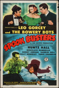 """Movie Posters:Comedy, Spook Busters (Monogram, 1946). One Sheet (27"""" X 41""""). Comedy.. ..."""