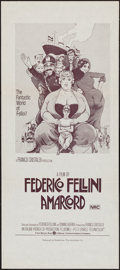 "Movie Posters:Foreign, Amarcord (Roadshow, 1974). Australian Daybill (13"" X 30""). Foreign.. ..."