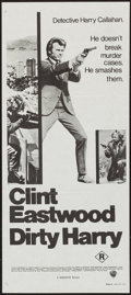 "Movie Posters:Crime, Dirty Harry (Roadshow, R-1970s). Australian Daybill (13.25"" X29.75""). Crime.. ..."