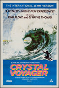 "Movie Posters:Documentary, Crystal Voyager (BEF, 1973). Australian One Sheet (27"" X 40""). Surfing Documentary.. ..."