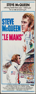 """Movie Posters:Sports, Le Mans (BEF, 1971). Australian Daybill (13"""" X 30""""). Sports.. ..."""