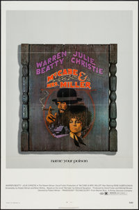"""McCabe and Mrs. Miller (Warner Brothers, 1971). One Sheet (27"""" X 41""""). Western"""