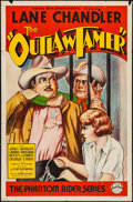 """Movie Posters:Western, The Outlaw Tamer (Empire, 1935). One Sheet (27"""" X 41""""). Western.. ..."""