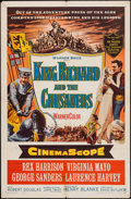 "Movie Posters:Adventure, King Richard and the Crusaders & Other Lot (Warner Brothers,1954). One Sheets (2) (27"" X 41""). Adventure.. ... (Total: 2 Items)"