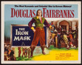 "Movie Posters:Adventure, The Iron Mask (Lippert, R-1953). Title Lobby Card (11"" X 14"").Adventure.. ..."