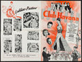 "Movie Posters:Mystery, Club Havana & Other Lot (PRC, 1945). Uncut Pressbooks (2)(Multiple Pages, 12"" X 18.25""). Mystery.. ... (Total: 2 Items)"