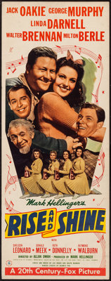 "Rise and Shine (20th Century Fox, 1941). Insert (14"" X 36""). Comedy"