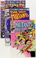 Modern Age (1980-Present):Superhero, The New Mutants Group (Marvel, 1982-91) Condition: Average NM-....(Total: 83 Comic Books)