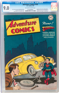 Adventure Comics #103 (DC, 1946) CGC VF/NM 9.0 Off-white to white pages
