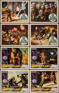 """Movie Posters:Science Fiction, The Phantom Planet & Other Lot (Four Crown, 1962). Lobby Cards(8) (11"""" X 14""""). Science Fiction.. ... (Total: 8 Items)"""
