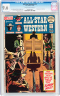 Bronze Age (1970-1979):Western, All-Star Western #10 (DC, 1972) CGC NM+ 9.6 Off-white to white pages....