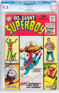 Silver Age (1956-1969):Superhero, 80 Page Giant #10 Superboy (DC, 1965) CGC NM 9.4 Off-white pages....
