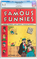 Platinum Age (1897-1937):Miscellaneous, Famous Funnies #2 (Eastern Color, 1934) CGC FN+ 6.5 Cream to off-white pages....