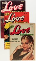 Golden Age (1938-1955):Romance, Love Experiences Group (Ace, 1951-56) Condition: Average FN....(Total: 11 Comic Books)