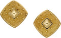 Estate Jewelry:Earrings, Robert Whiteside Gold Earrings. ...