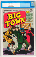 Big Town #8 Mile High pedigree (DC, 1951) CGC NM+ 9.6 Off-white to white pages