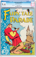 Golden Age (1938-1955):Funny Animal, Fairy Tale Parade #1 (Dell, 1942) CGC NM 9.4 Cream to off-whitepages....