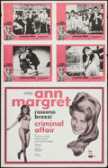 "Movie Posters:Foreign, Criminal Affair and Other Lot (GGP, 1971). Uncut Half Sheet/ Lobby Set of 4 (28"" X 44"") & One Sheet (27"" X 41""). Foreign.. ... (Total: 2 Items)"