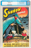 Golden Age (1938-1955):Superhero, Shadow Comics V6#9 Mile High pedigree (Street & Smith, 1946) CGC NM- 9.2 Off-white to white pages....