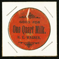 Miscellaneous:Other, H.E. Wagner Good For One Quart of Milk.. ...