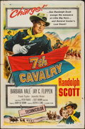 "Movie Posters:Western, Seventh Cavalry (Columbia, 1956). One Sheet (27"" X 41""). Western.. ..."