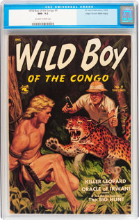 Wild Boy of the Congo #9 Mile High pedigree (St. John, 1953) CGC NM- 9.2 Off-white to white pages