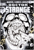 Original Comic Art:Illustrations, Frank Brunner Doctor Strange #4 Cover Recreation Original Art (2008)....