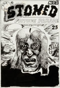 Original Comic Art:Covers, Rory Hayes Stoned Picture Parade #2 Unpublished CoverOriginal Art (San Francisco Comic Book Co., c. 1976)....
