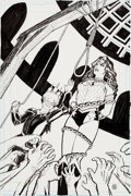 Original Comic Art:Covers, Cliff Chiang Wonder Woman V4#9 Cover Original Art (DC, 2012)....
