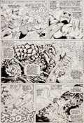 Original Comic Art:Panel Pages, Bill Everett and Dan Adkins Tales to Astonish #91 Page 8Original Art (Marvel, 1967)....