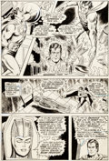 Original Comic Art:Panel Pages, Curt Swan and Murphy Anderson Action Comics #403 Page 7 Original Art (DC, 1971)....