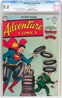 Adventure Comics #149 (DC, 1950) CGC VF 8.0 Light tan to off-white pages