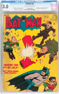 Golden Age (1938-1955):Superhero, Batman #18 (DC, 1943) CGC GD/VG 3.0 Cream to off-white pages....