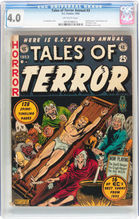 Tales of Terror Annual #3 (EC, 1953) CGC VG 4.0 Off-white pages