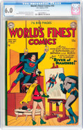 World's Finest Comics #52 (DC, 1951) CGC FN 6.0 Cream to off-white pages