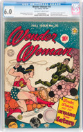 Golden Age (1938-1955):Superhero, Wonder Woman #10 (DC, 1944) CGC FN 6.0 Off-white to white pages....