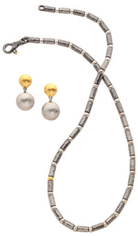Lot of Silver, Gold Jewelry, Gurhan