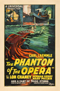 "Movie Posters:Horror, The Phantom of the Opera (Universal, 1925). One Sheet (27"" X 41"").. ..."