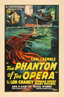 "Featured item image of The Phantom of the Opera (Universal, 1925). One Sheet (27"" X 41"").  ..."