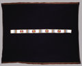 American Indian Art:Beadwork, A SIOUX BEADED HIDE BLANKET STRIP. . c. 1890. ...