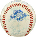 Autographs:Baseballs, 1989 Oakland A's World Series Team Signed Baseball. The Oakland A'sdefeated their cross-bay rivals, the San Francisco Gian...