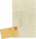 "Transportation:Automotive, Early Oil-Related Letter Postmarked Titusville, Pennsylvania, Autograph Letter Signed, ""Calvin Morse, two pages, 7.25"" ... (Total: 1 Item)"