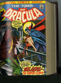 Bronze Age (1970-1979):Horror, Tomb of Dracula #1-27 Partial Issues Bound Volume (Marvel,1972-74)....