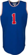 Basketball Collectibles:Uniforms, 1972 Oscar Robertson ABA vs. NBA All-Star Game Worn Jersey, MEARS A10....