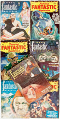Books:Pulps, [Pulps]. Seven Issues of Famous Fantastic Mysteries.1946-1952. Publisher's printed wrappers. Dampstaining, toning a...(Total: 7 Items)