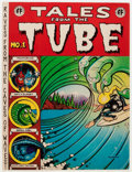 Bronze Age (1970-1979):Alternative/Underground, Tales from the Tube #1 First Oversize Printing (Print Mint, 1973) Condition: FN....